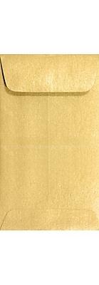 LUX #5 1/2 Coin Envelopes (3 1/8 x 5 1/2) 1000/Box, Gold Metallic (512CO-07-1M)