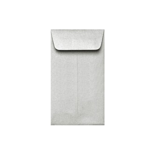 LUX #5 1/2 Coin Envelopes (3 1/8 x 5 1/2) 50/Box, Silver Metallic (512CO-06-50)