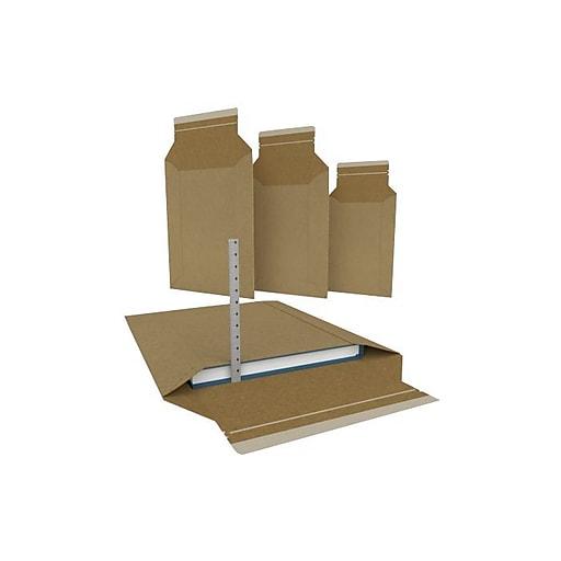 LUX 11 3/4 x 14 1/2 CONFORMER Mailers 250/Box) 250/Box, 30PT Kraft (CON-HDC3-250)