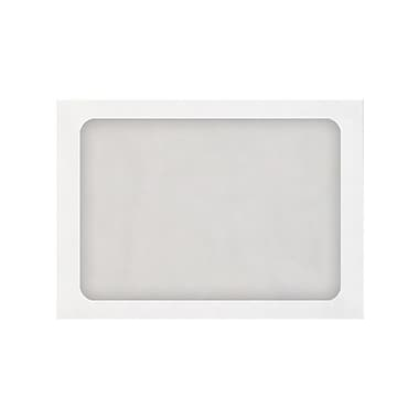 LUX® A7 Full Face Window Envelopes, 28lb, White, 1000/Pack (A7FFW-28W-1M)