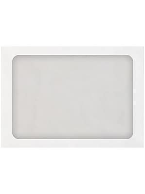 LUX A7 Full Face Window Envelopes 250/box, 28lb. White (A7FFW-28W-250)