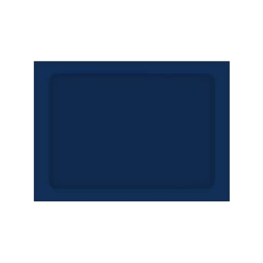 LUX® A7 Full Face Window Envelopes; Navy Blue, 1000/PK (A7FFW-103-1M)