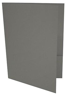 LUX 9 x 12 Presentation Folders 1000/Box, Smoke (LUX-PF-22-1M)
