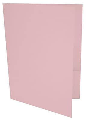 LUX 9 x 12 Presentation Folders 1000/Box, Candy Pink (LUX-PF-14-1M)