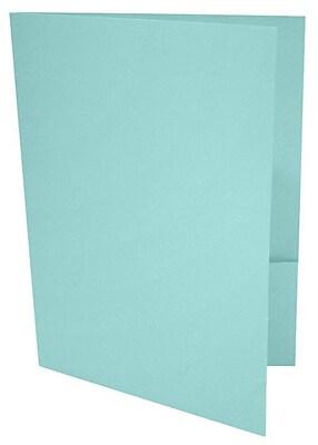 LUX 9 x 12 Presentation Folders 1000/Box, Seafoam (LUX-PF-113-1M)