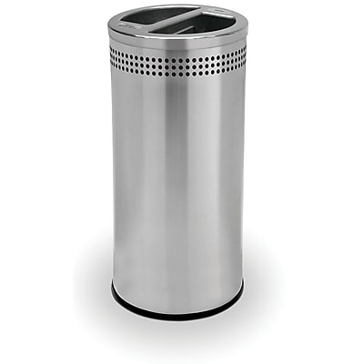 Commercial Zone Products Precision Series SS 20gal Recycling Container, Stainless Steel (745829) 1563056