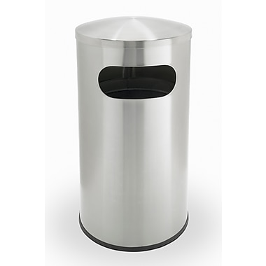 Commercial Zone Products® Precision Series® Allure Stainless Steel 15gal Waste Container (780329)