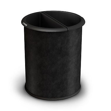 Commercial Zone Products® Precision Series® InnRoom Recycler Container, Black Vinyl Wrap (780946)