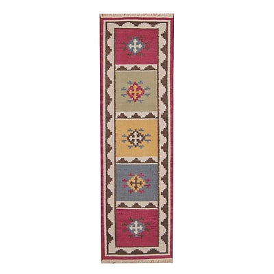 Herat Oriental Hand-Woven Gray Area Rug; 4'6'' x 6'6''