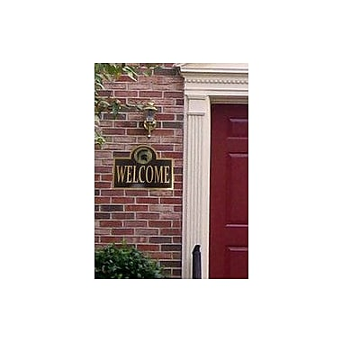 HensonMetalWorks Collegiate Mounted Welcome Plaque; Tennessee