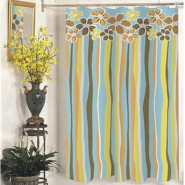 Carnation Home Fashions Mandy Shower Curtain