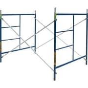 MetalTech 5' H x 60'' W x 84'' D Steel Contractor Series Single Lift Scaffolding