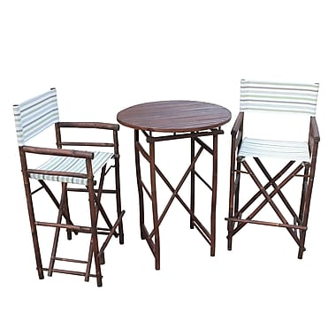 ZEW 3 Piece Dining Set