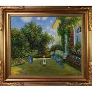 Tori Home La Casa Della Artista by Claude Monet Framed Painting