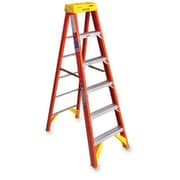 Werner 6 ft Fiberglass OE Step Ladder w/ 300 lb. Load Capacity