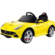 Vroom Rider Ferrari F12 Rastar 6V Battery Powered Car; Yellow