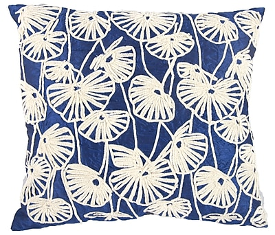 A&B Home Fantail Pillow in Blue WYF078277823288