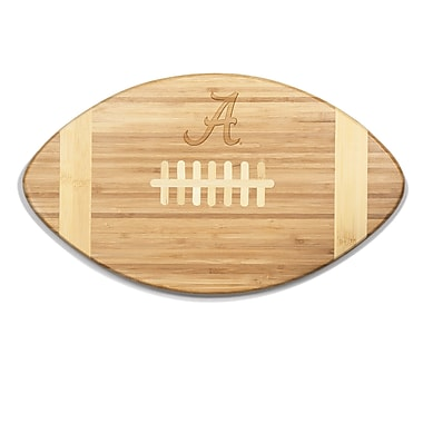 Picnic Time NCAA Touchdown! Engraved Cutting Board; Alabama
