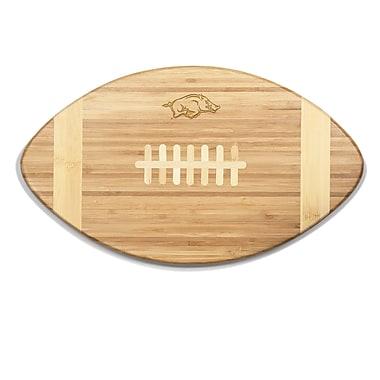 Picnic Time NCAA Touchdown! Engraved Cutting Board; Arkansas