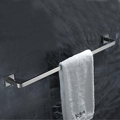 Kraus Aura Mounting Towel Bar; Chrome