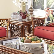 Spice Islands Bali End Table; Brown