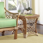 Spice Islands Bali End Table; Natural