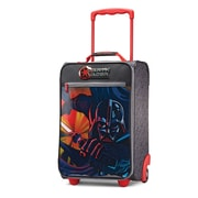 "American Tourister Disney Star Wars Darth Vader Black 18"" Softside Upright Polyester with Vinyl Front (65774-4572)"
