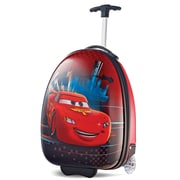"American Tourister Disney Cars Red 16"" Hardside Upright ABS/PC split case shell (65773-4429)"
