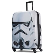 "American Tourister Disney Star Wars Storm Trooper White 28"" Hardside ABS/PC split case shell (65778-4608)"