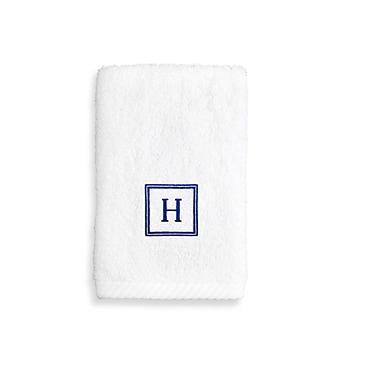 Linum Home Textiles Personalized Soft Twist Wash Cloth; V