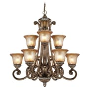 Dolan Designs Carlyle 9-Light Candle-Style Chandelier