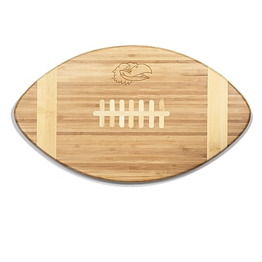 Picnic Time NCAA Touchdown! Engraved Cutting Board; Kansas