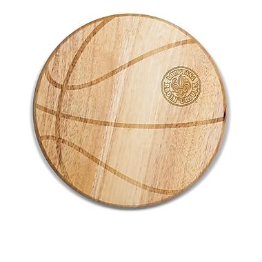 Picnic Time NCAA Free Throw Cutting Board; Louisiana At Lafayette