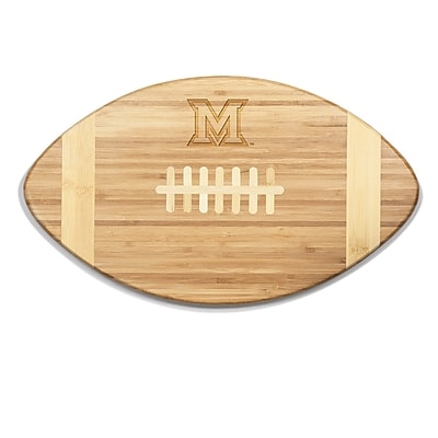 Picnic Time NCAA Touchdown! Engraved Cutting Board; Miami Of Ohio