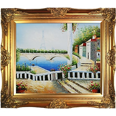 Tori Home Resort Near The Eiffel Framed Painting Print