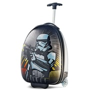 "American Tourister Disney Star Wars Storm Trooper Silver16"" Hardside Upright ABS/PC split case shell (65773-4608)"