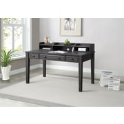 "Whalen Barkston Lane Desk, 56"" x 28"" x 30"", Grey Oak Finish"