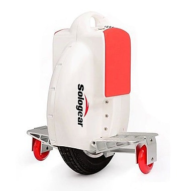 SoloGear – Monocycle à équilibrage automatique, G3-15, blanc/rouge
