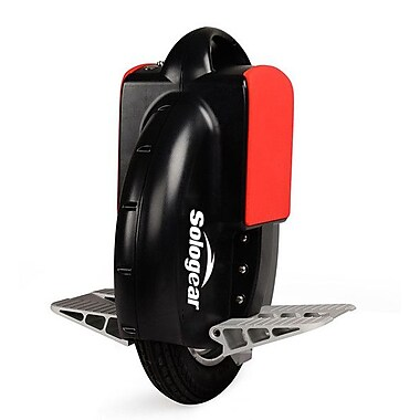 SoloGear Self Balancing Unicycle, G3-15, Black/Red