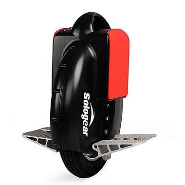 SoloGear – Monocycle à équilibrage automatique, G3-15, noir/rouge