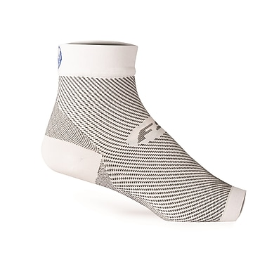FS6 Unisex Foot Sleeves 32343W, White, Size Medium