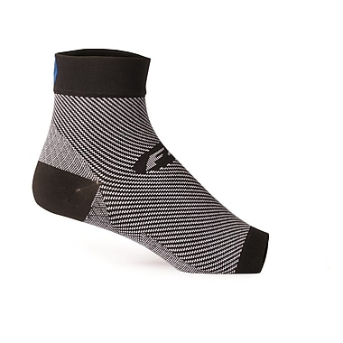 FS6 Unisex Foot Sleeves 32345B, Black, Size Large