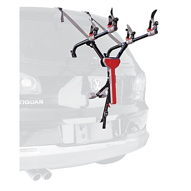 Allen Sports MT2 Compact 2 Bike Trunk Carrier, Black
