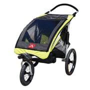 Allen Sports – Poussette/remorque JTX1 en aluminium pour un enfant, jaune
