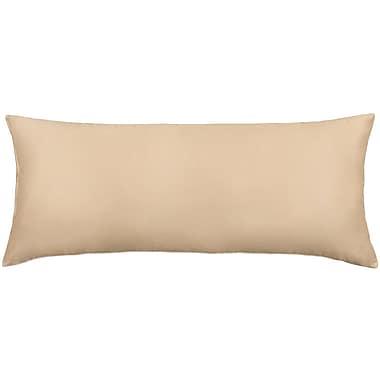 J.S. – Taie d'oreiller de corps en coton polyester, 54 po x 21 po, ultra douce