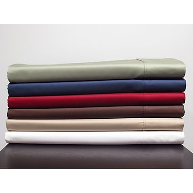 T-200 Poly/Cotton Sheet Set, 50% Cotton 50% Polyester, King, Navy Blue