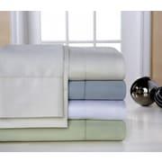 T-400 – Ensemble de draps à coins profonds en coton 400 fils au po ca, grand lit