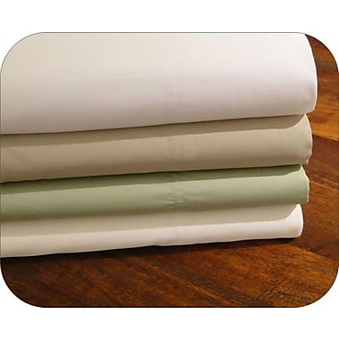 TC-800 Cotton Polyester Deep Pocket Sheet Set, 800 Thread Count, Double, Sage Green