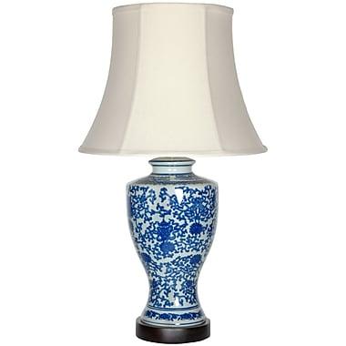 Oriental Furniture Victorian Design 28'' Table Lamp