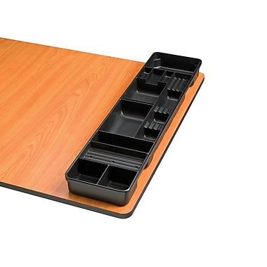 Alvin and Co. Table and Desktop Storage Tray; Black
